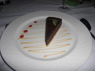 Vanilla choc torte